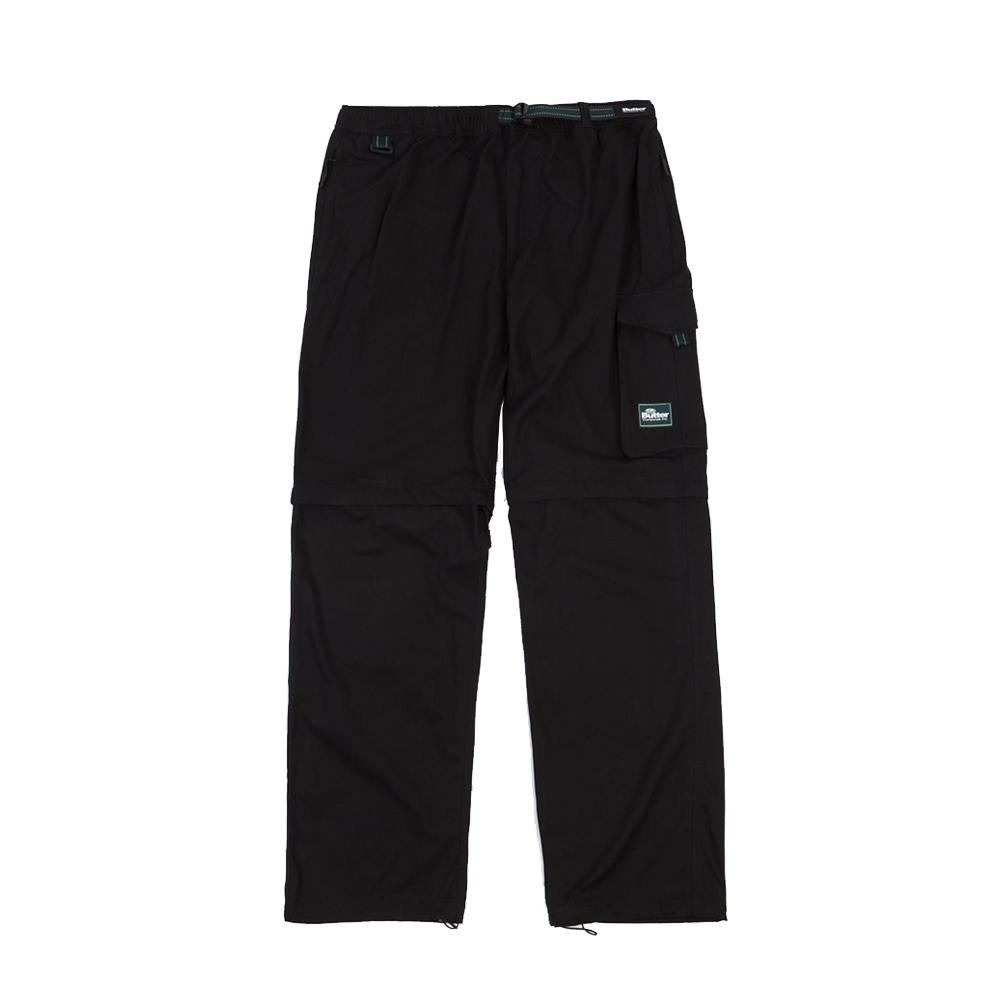 Butter Goods - Hiking Zip Off Cargo Pants - Black | Trousers by Butter Goods 1