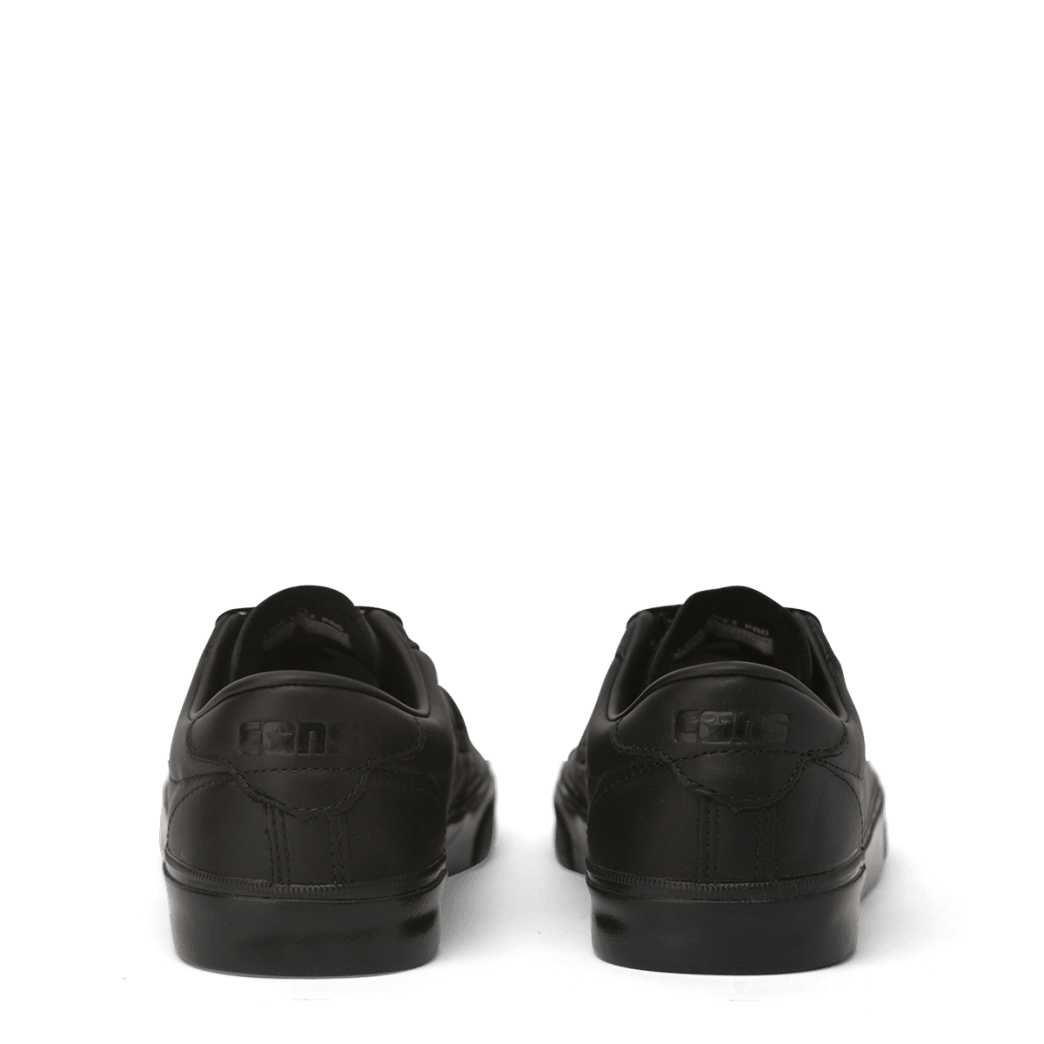 Converse Cons Leather Louie Lopez Pro Skateboarding Shoes - Black/Black/Black | Shoes by Converse Cons 4
