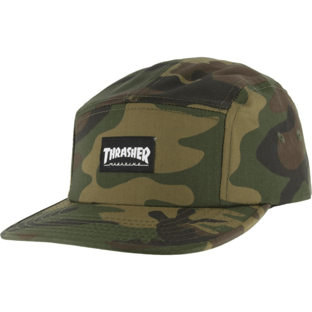 Thrasher - 5 Panel Cap - Camouflage | Baseball Cap by Thrasher 1