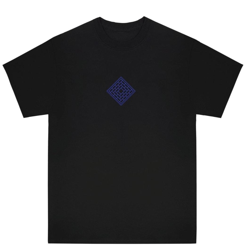 The National Skateboard Co Classic T-Shirt - Black | T-Shirt by The National Skateboard Co. 1