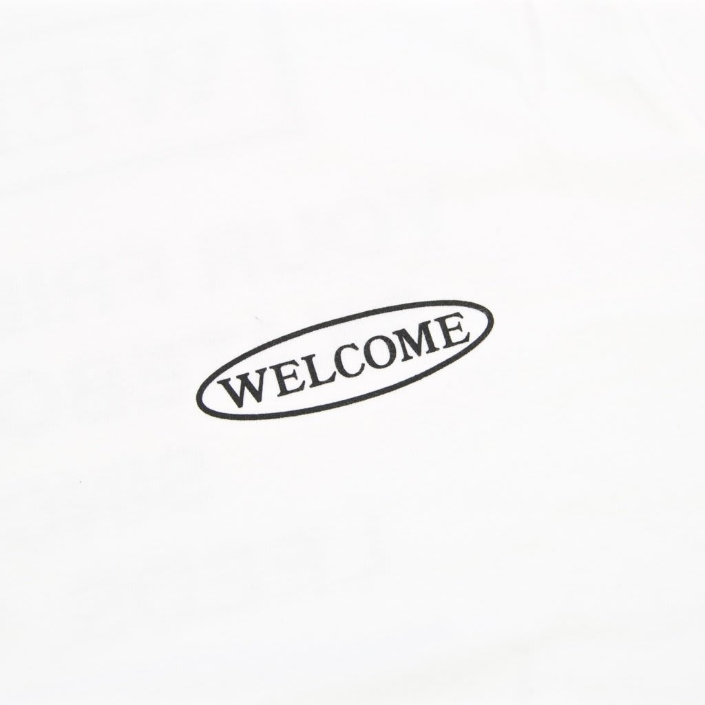 Welcome Skate Store - No Drama T-Shirt - White | T-Shirt by Welcome Skate Store 3