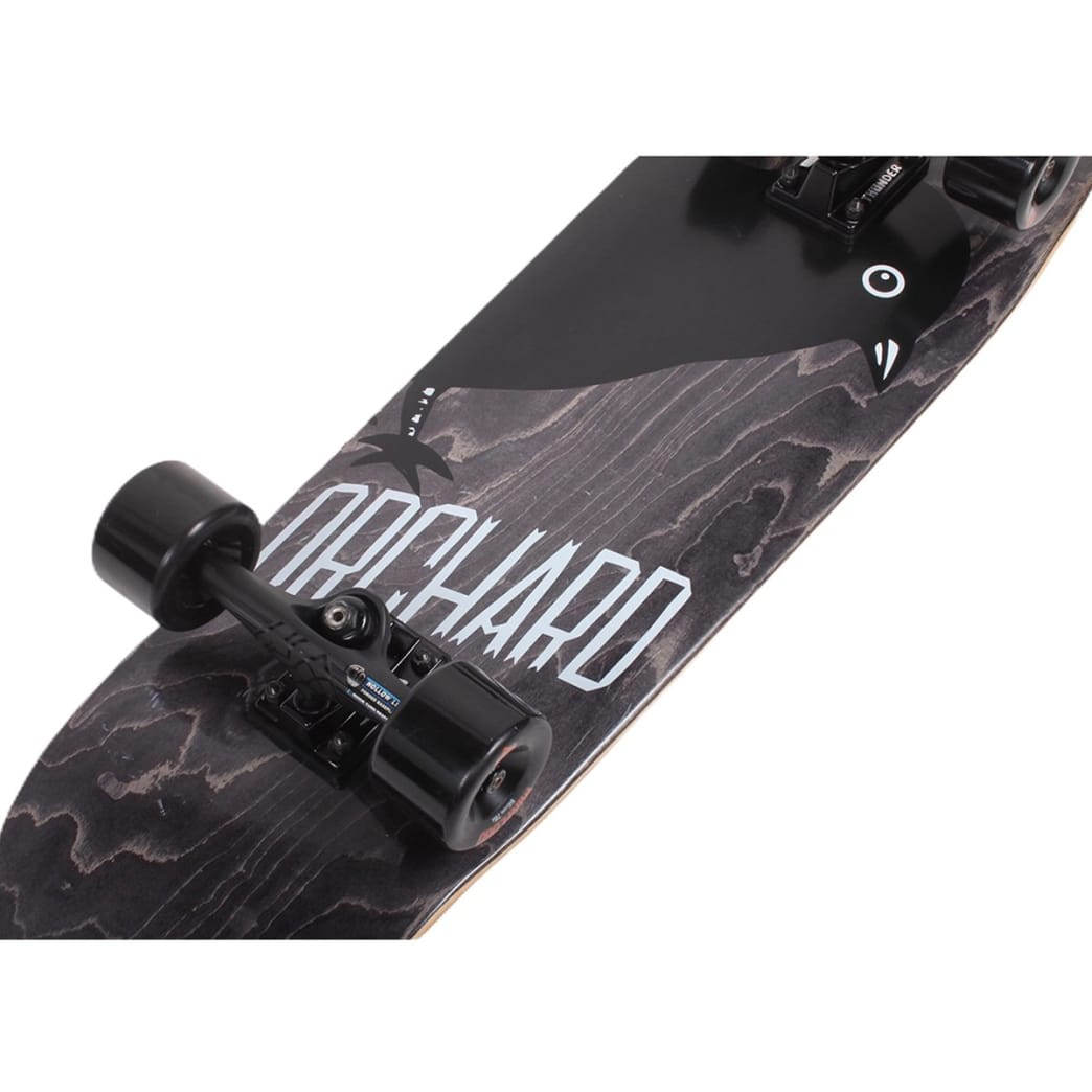 Orchard Assembled Cruiser Complete Bird Blackout Drippy Shape 9.1 | Complete Skateboard by Orchard 4