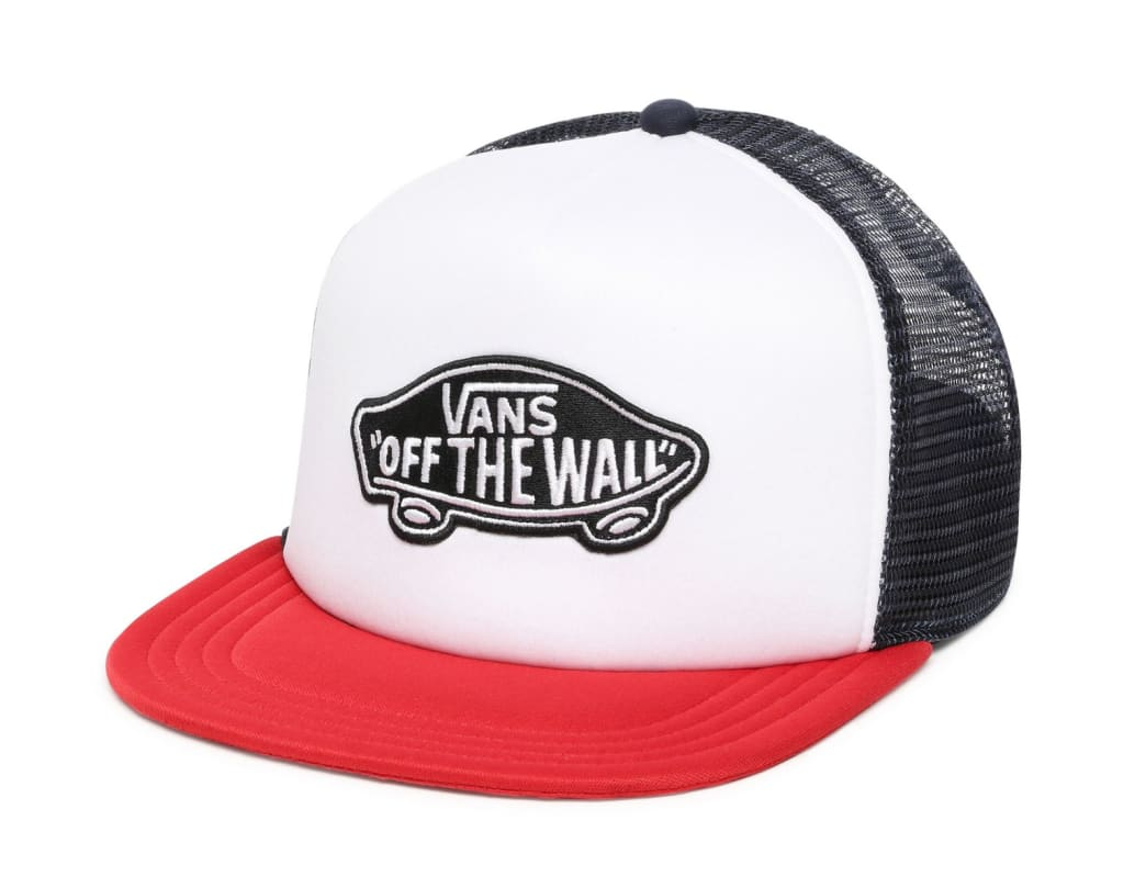 Vans Classic Patch Trucker - Racing Red-White | Trucker Cap by Vans 1