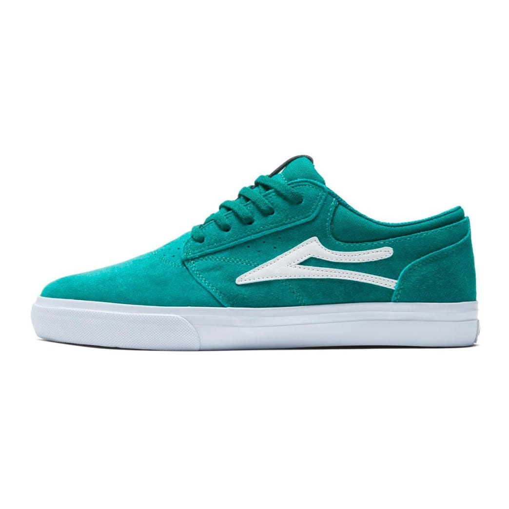 Lakai Griffin Suede Skate Shoes - Jade | Shoes by Lakai 2