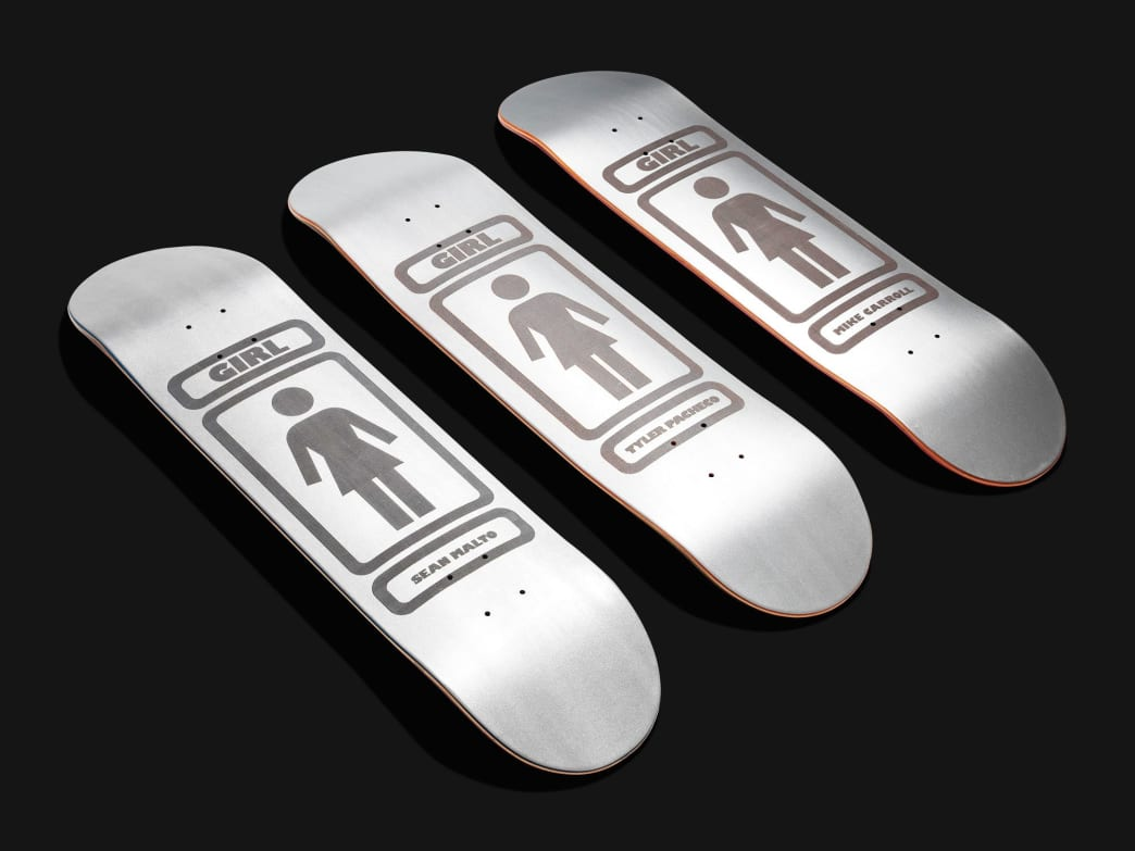 Girl Pacheco 90 3MC Reflective Deck 8.125"