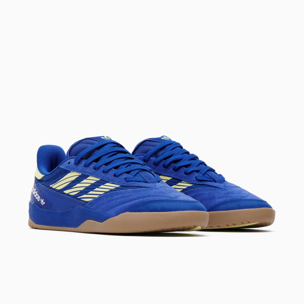 Adidas Copa Nationale Skate Shoe - Team Royal Blue / Yellow Tint / FTWR White | Shoes by adidas Skateboarding 2