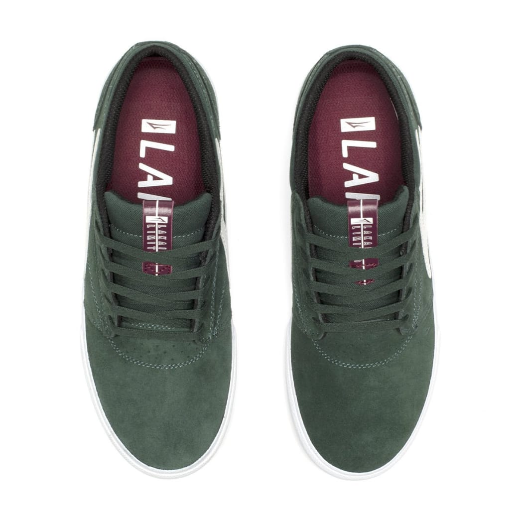 Lakai Griffin VLK Suede Skate Shoe - Pine | Shoes by Lakai 3