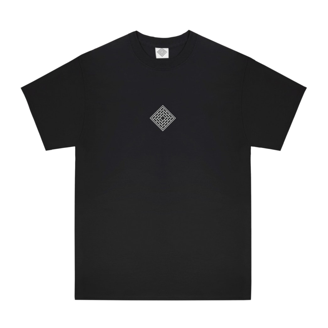 The National Skateboard Co. Classic Text T-Shirt - Black | T-Shirt by The National Skateboard Co. 1