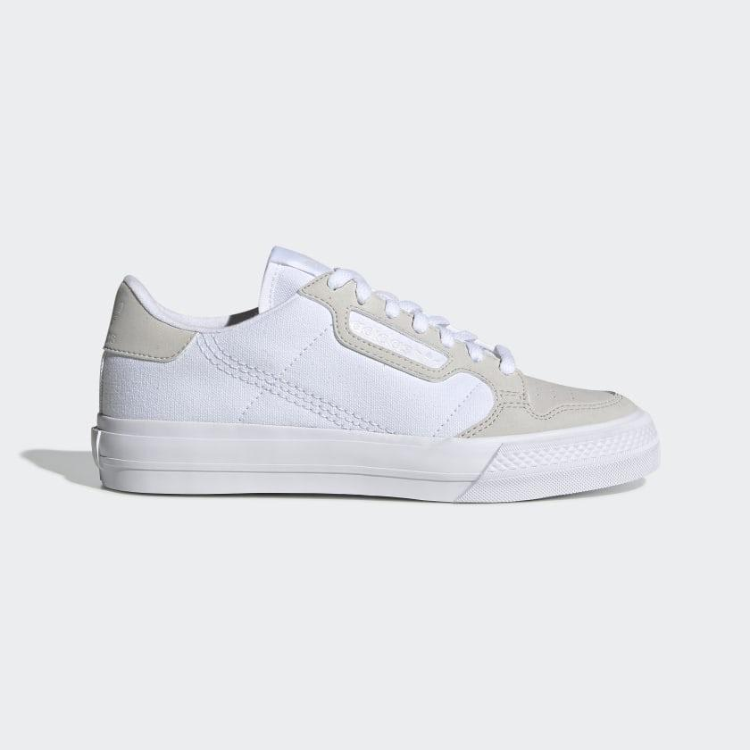 Adidas - Continental Vulc - Cloud White / Cloud White / Grey One | Shoes by adidas Skateboarding 1