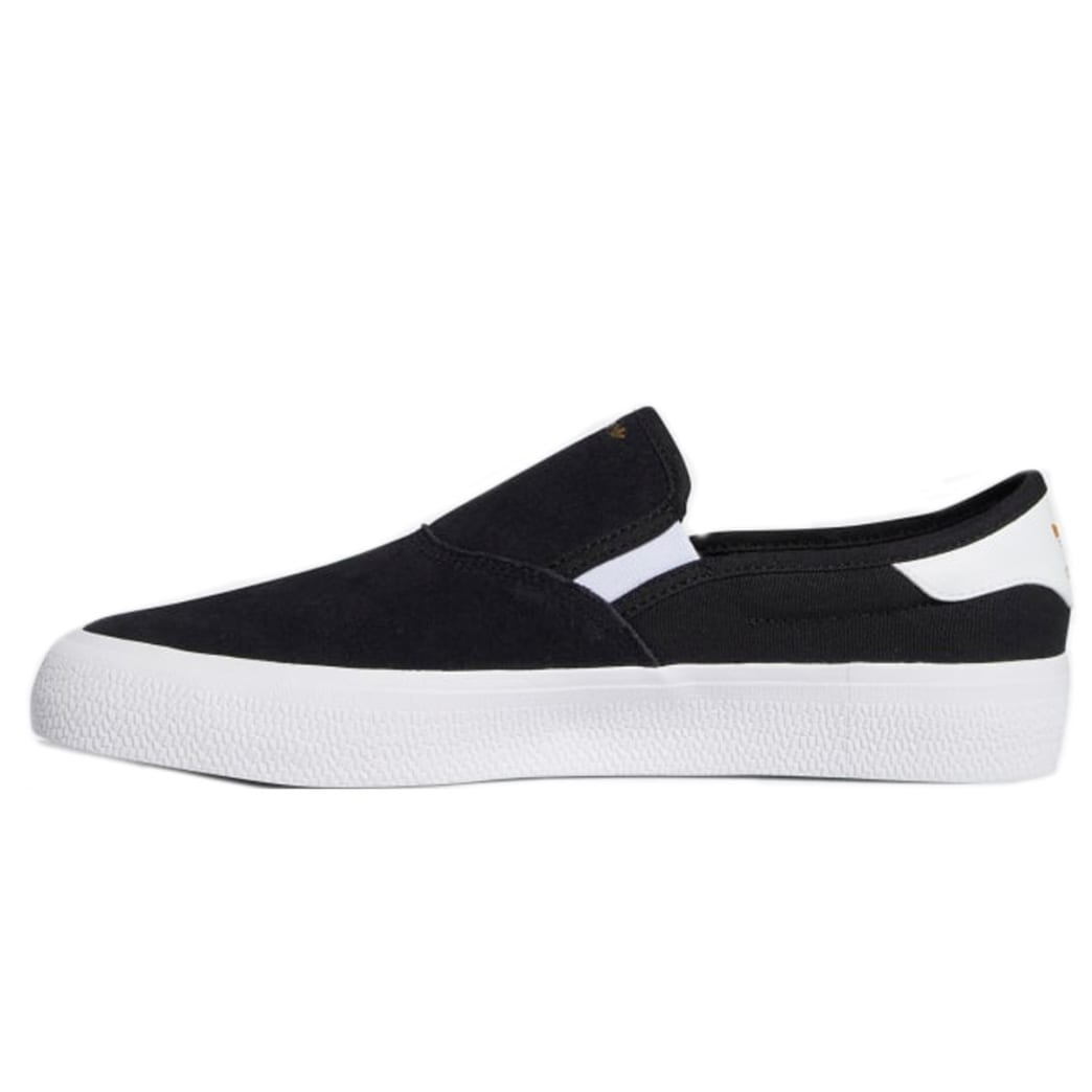 Adidas 3MC Slip On - Black/White   Shoes by adidas Skateboarding 3