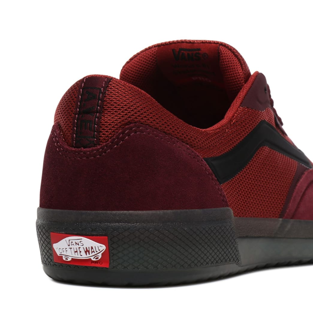 Vans AVE Pro Skate Shoes - Port Royale / Rosewood | Shoes by Vans 6