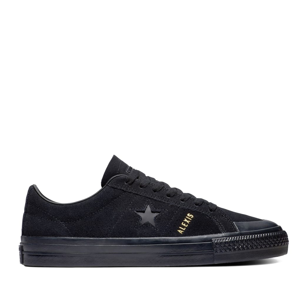Converse CONS One Star Pro AS Low Top Shoes - Black / Black / Black   Shoes by Converse Cons 1