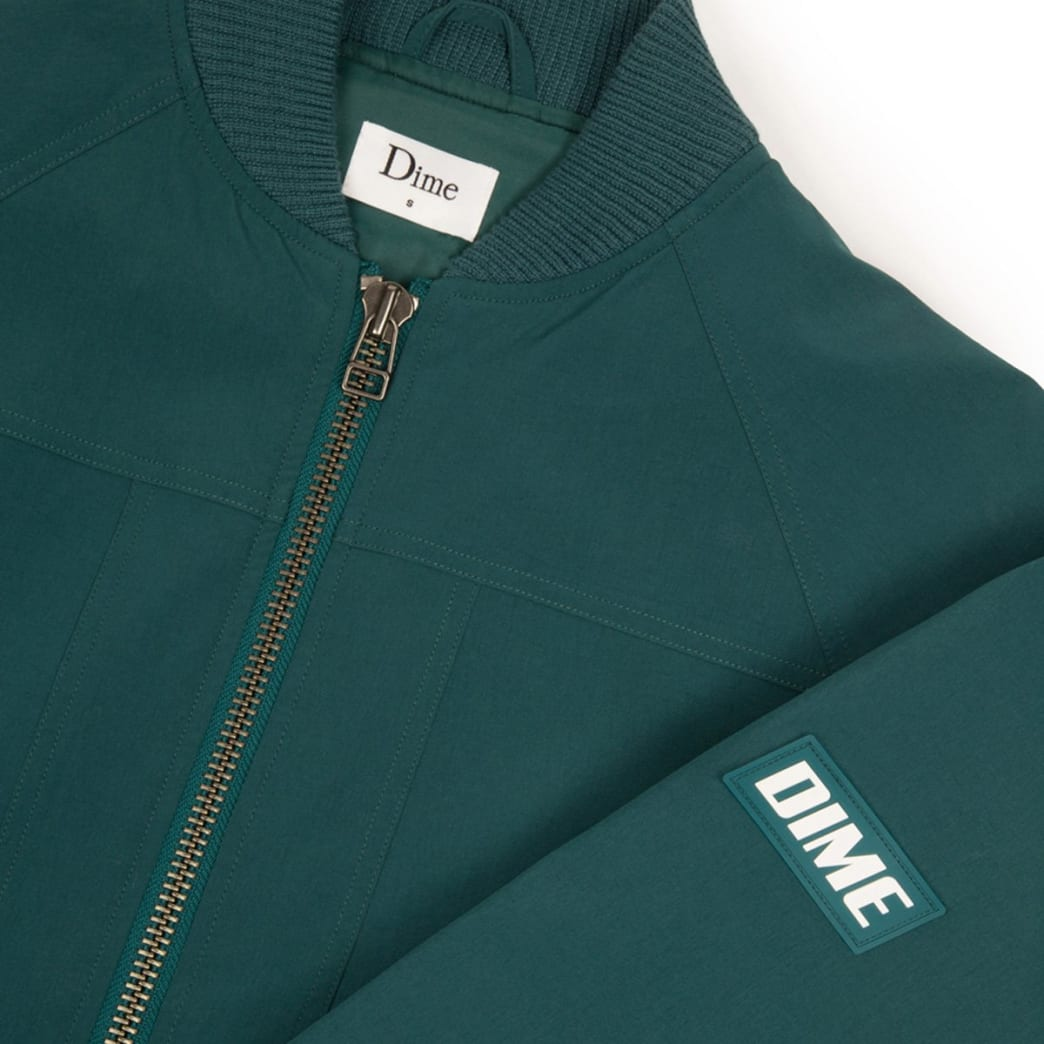 Dime MA1 Bomber Jacket - Emerald | Jacket by Dime MTL 2