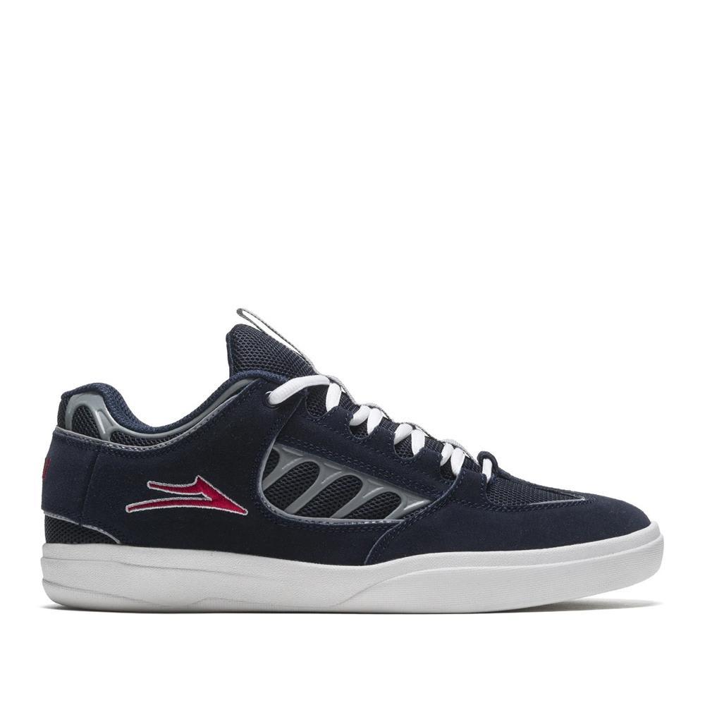 Lakai Carroll Suede Skate Shoes - Navy | Shoes by Lakai 1