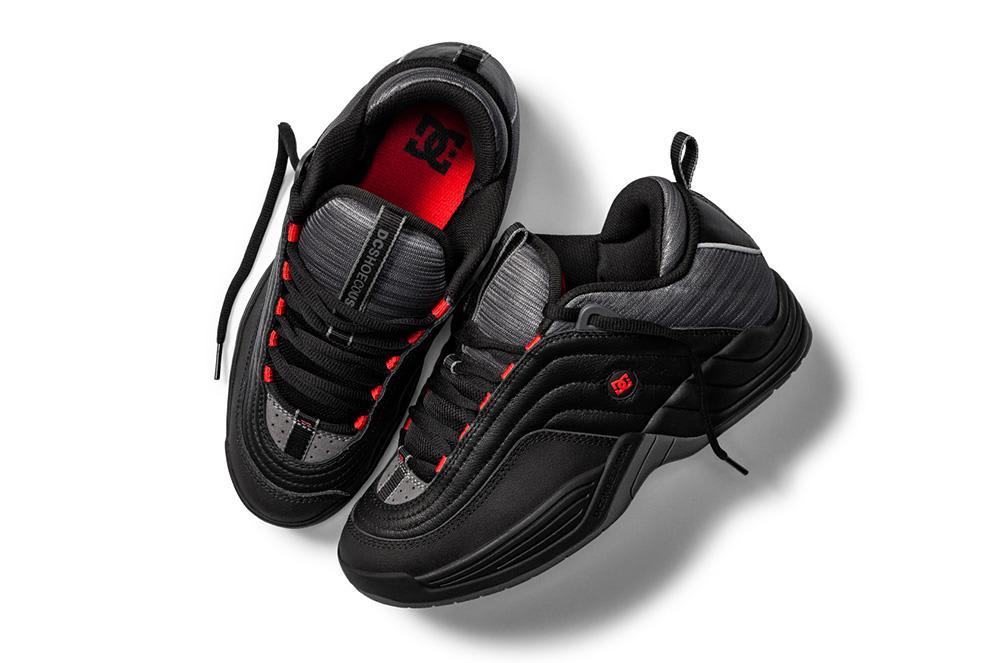 DC Love Park Williams OG Skateboarding Shoe - Black/Red | Shoes by DC Shoes 2