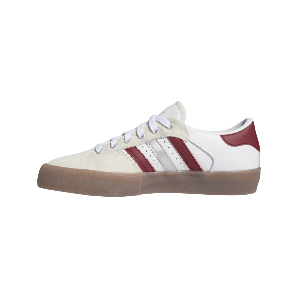 Adidas Matchbreak Super Shin Sanbongi Skateboarding Shoes - FTWR White / Collegiate Burgundy / Gum 4 | Shoes by adidas Skateboarding 4