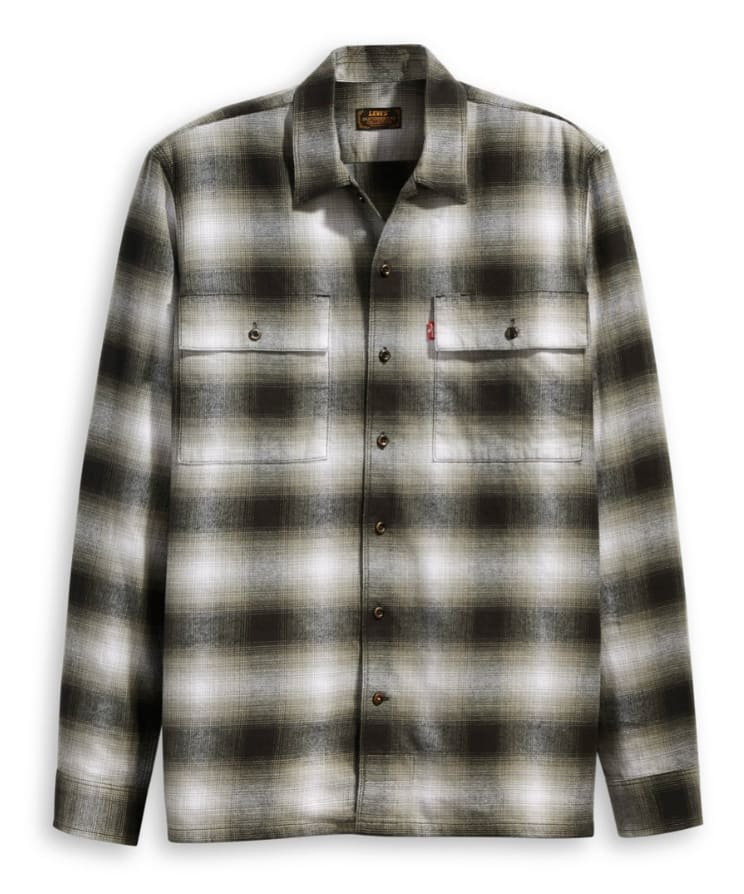 Levis Skate LS Work Shirt - Dabakan Monument | Jacket by Levi's Skateboarding 1