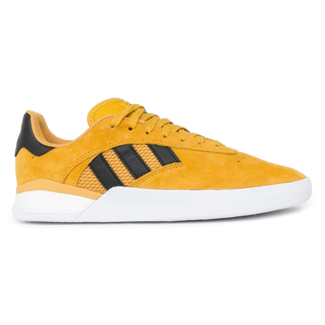 Adidas 3ST.004 x Miles Silvas Shoes - Tactile Yellow/Black/Gold | Shoes by adidas Skateboarding 2