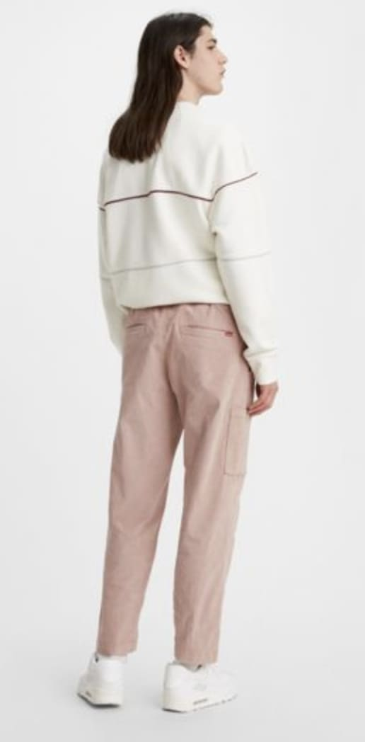 Levi's Pull On Taper Corduroy Pant II - Fawn (Blush) | Chinos by Levi's Skateboarding 4