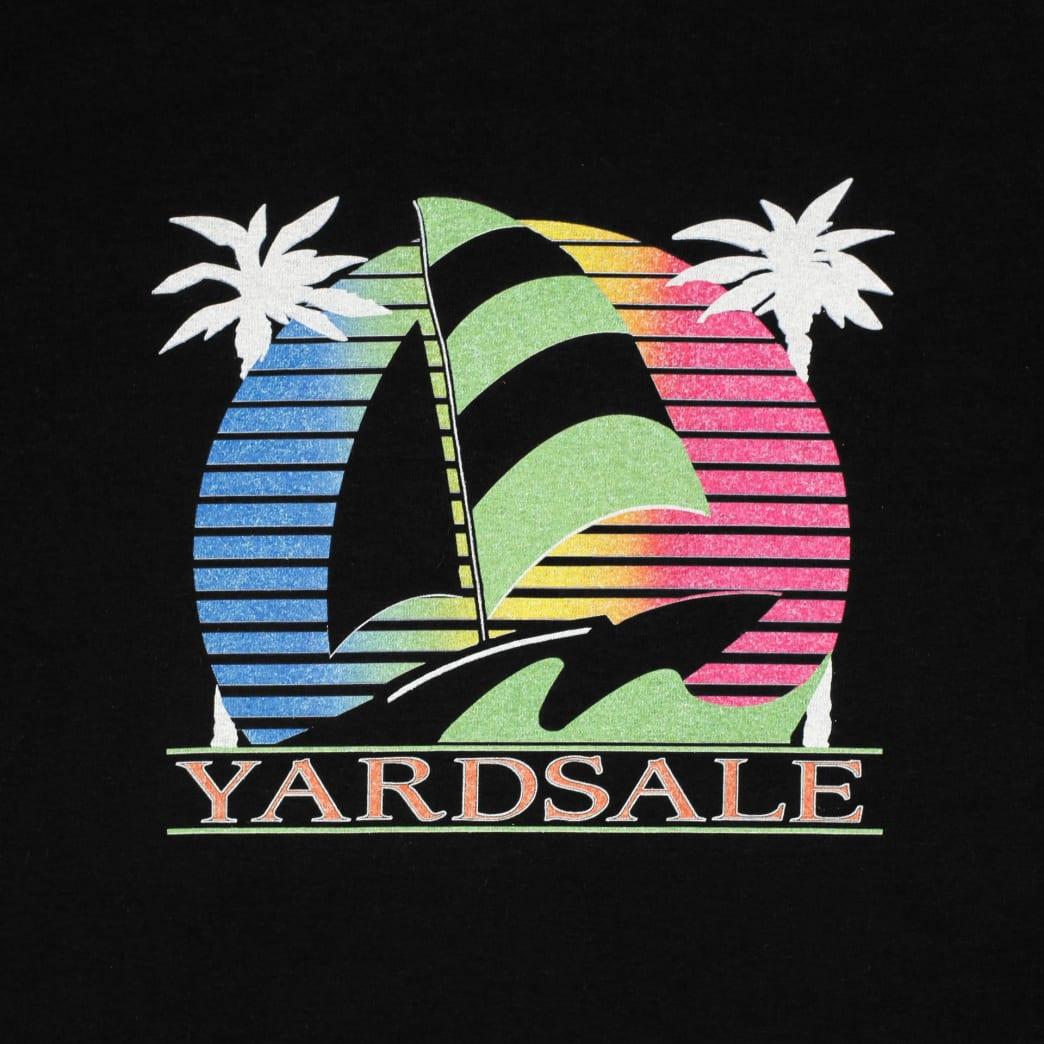 Yardsale Sail Boat T-Shirt - Black | T-Shirt by Yardsale 2