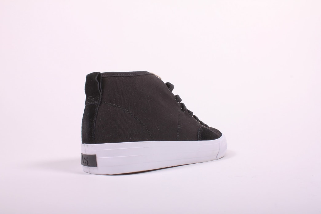 State Harlem Up Town Black/White Canvas Suede   Shoes by State Footwear 3