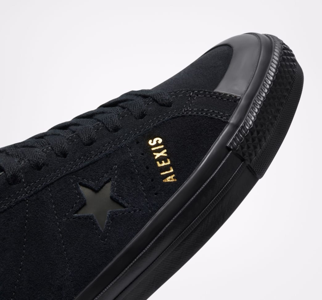 Converse CONS One Star Pro AS Low Top Shoes - Black / Black / Black   Shoes by Converse Cons 6