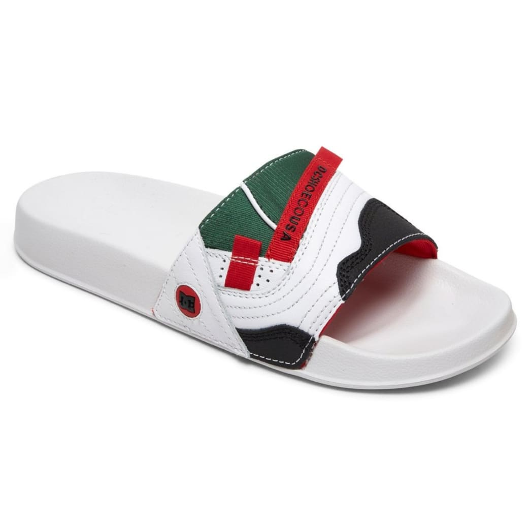DC Williams Slide (White / Red) | Shoes by DC Shoes 1