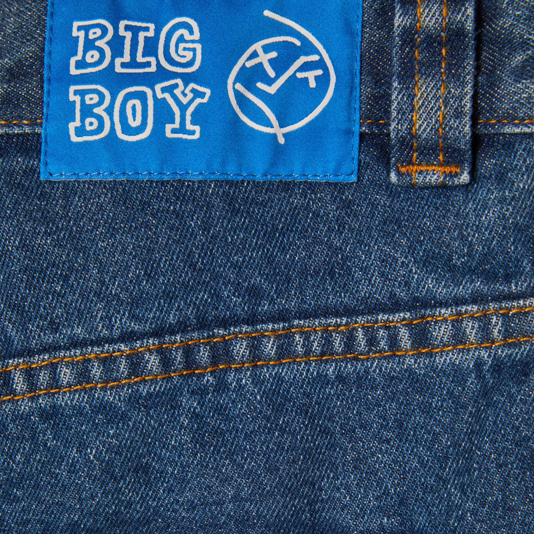 Polar Skate Co Big Boy Jeans - Dark Blue | Jeans by Polar Skate Co 4