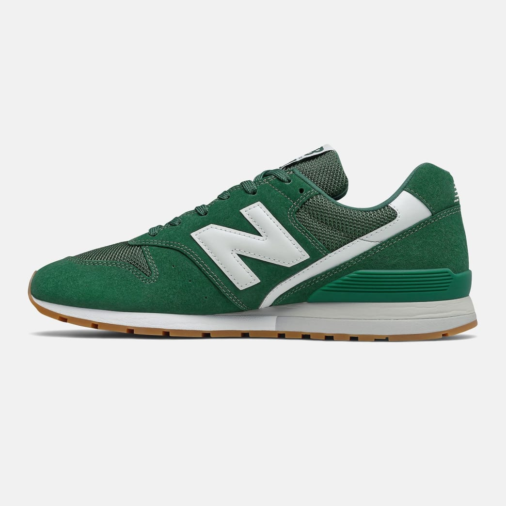 New Balance 996 Shoes - Forest Green / White   Shoes by New Balance 3
