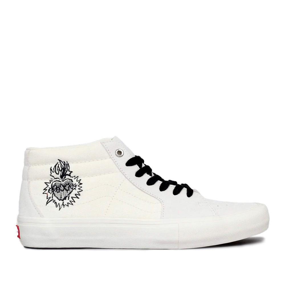 Vans x Slam City Sk8-Mid Pro Skate Shoes - Marshmallow | Shoes by Vans 1