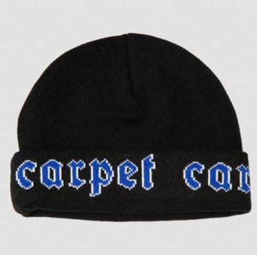 Carpet Company - Victorian Beanie Black | Beanie by Carpet Company 1