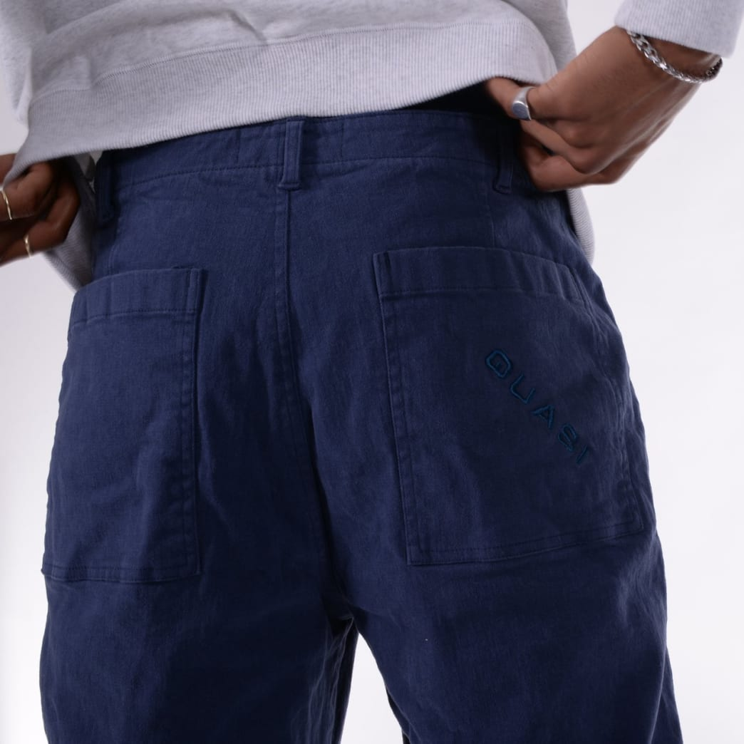 Quasi Fatigue Pant - Dark Blue | Jeans by Quasi Skateboards 6