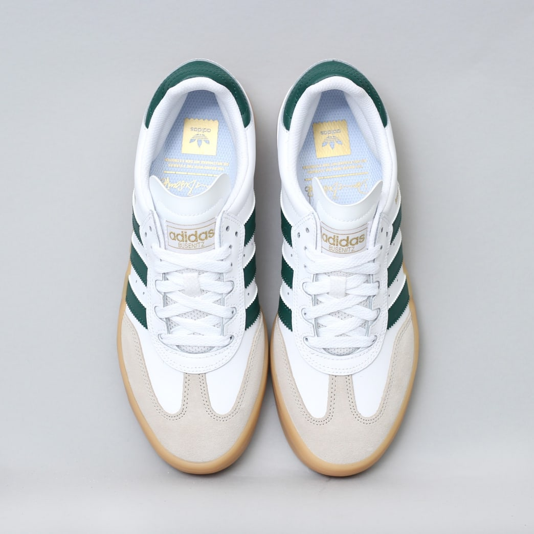 adidas Busenitz Vulc RX Shoes FTWR White / Collegiate Green / Gum3 | Shoes by adidas Skateboarding 5
