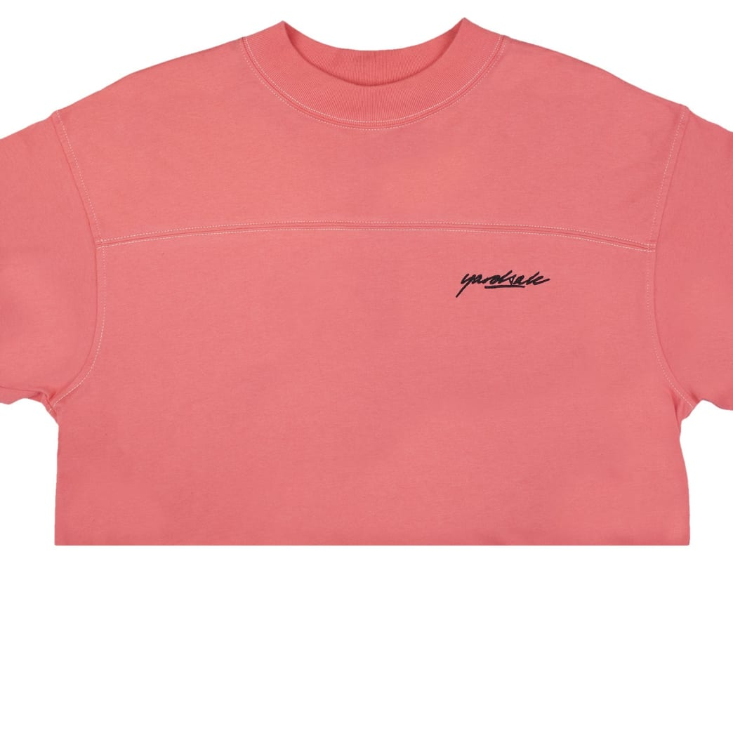Yardsale Script Polo Long Sleeve - Pink | Longsleeve by Yardsale 3