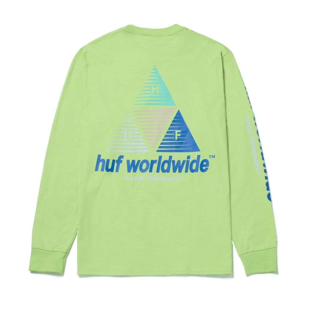 Huf Prism Logo Sportif LS T-Shirt | Longsleeve by HUF 2