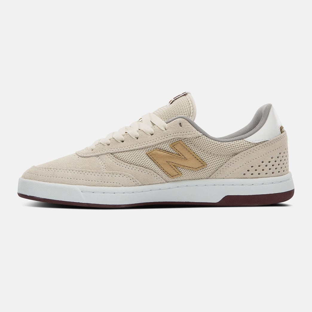 New Balance Numeric 440 Shoes - Turtle Dove / Gold Metallic | Shoes by New Balance 3