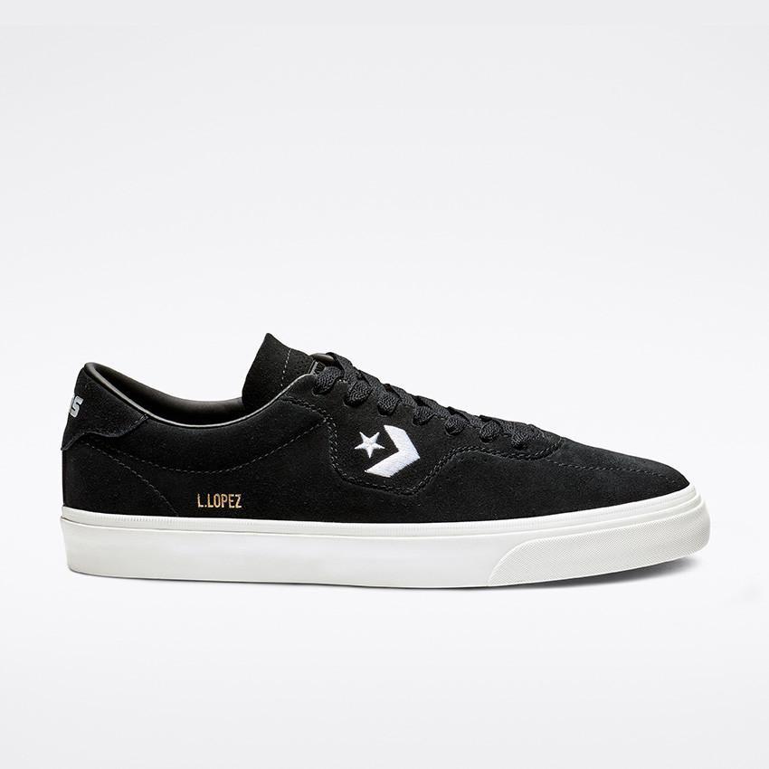 Converse Cons Louie Lopez Pro Shoes - Black/Black/White | Shoes by Converse Cons 1