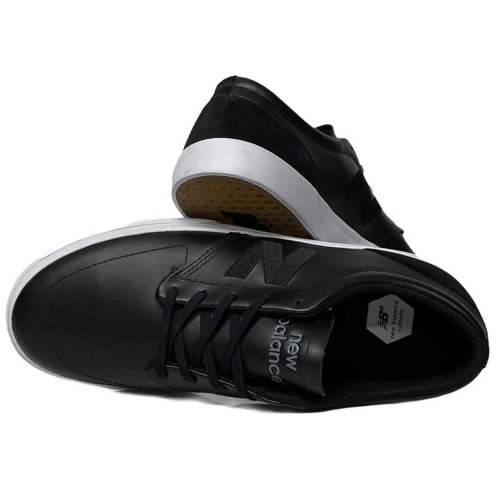 New Balance Numeric 345 Skate Shoes - Black Leather | Shoes by New Balance 3