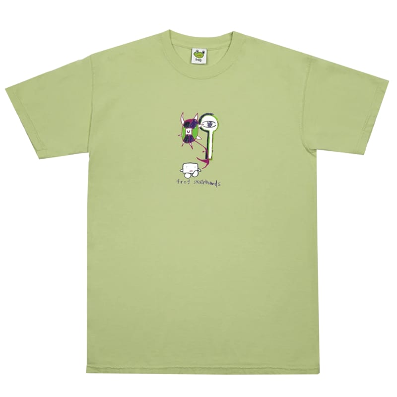Frog Tree Spirit Tee - Leafy Green   T-Shirt by Frog Skateboards 1