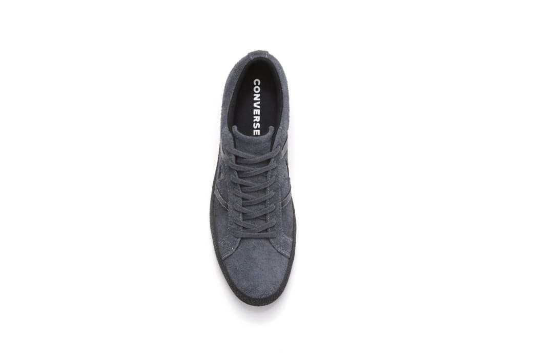 Converse Cons One Star Academy OX Skateboarding Shoes - Sharkskin/Black | Shoes by Converse Cons 4