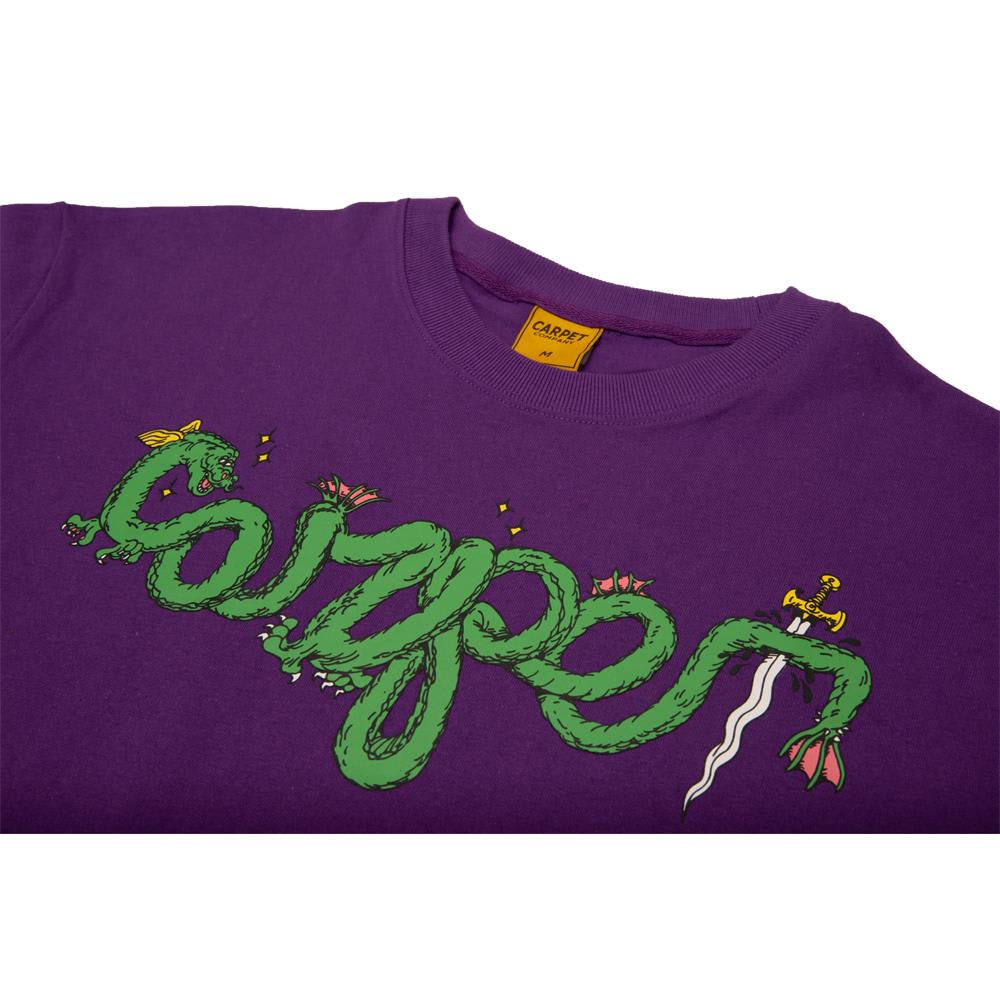 Carpet Company Dragon Tee Purple | T-Shirt by Carpet Company 2