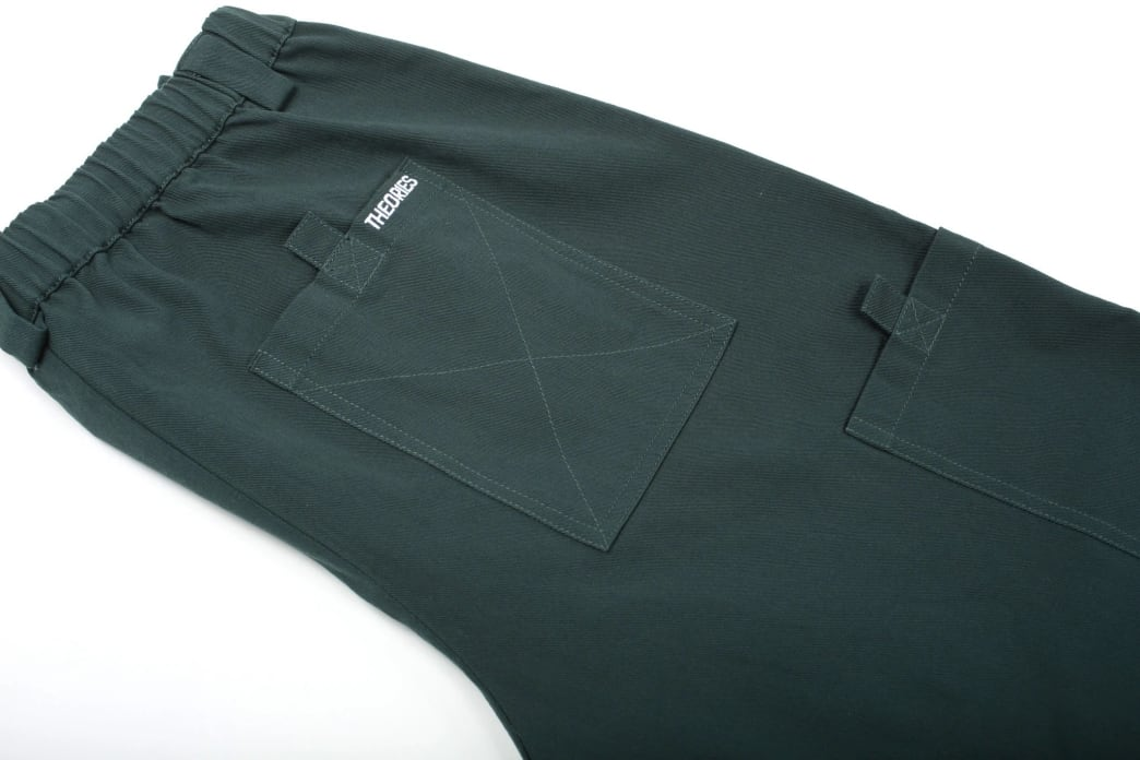 Theories Brand- Stamp Lounge Pant Scarab | Trousers by Theories of Atlantis 3
