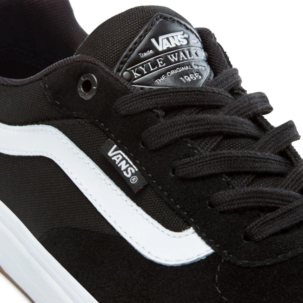 Vans Kyle Walker Pro Skate Shoes - Black / White   Shoes by Vans 7