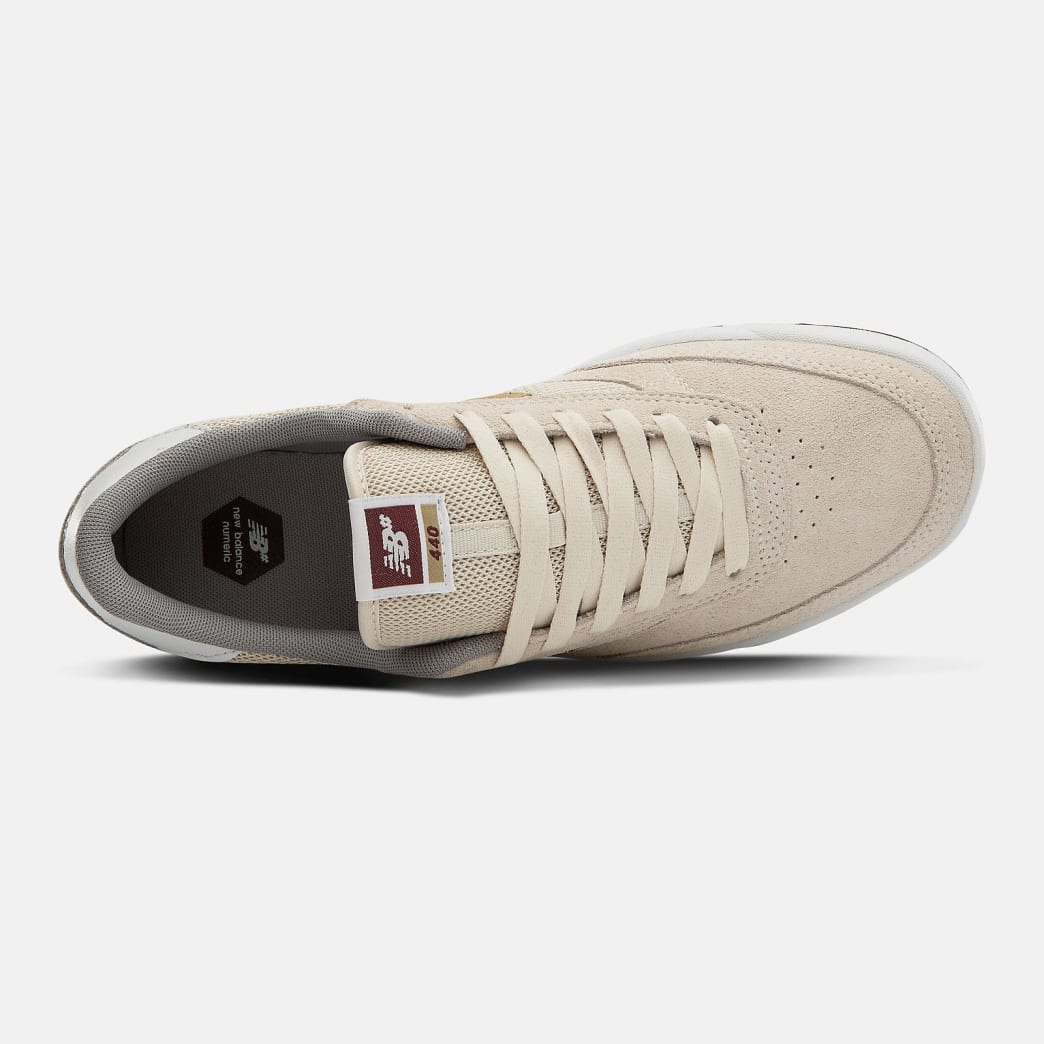 New Balance Numeric 440 Shoes - Turtle Dove / Gold Metallic | Shoes by New Balance 2