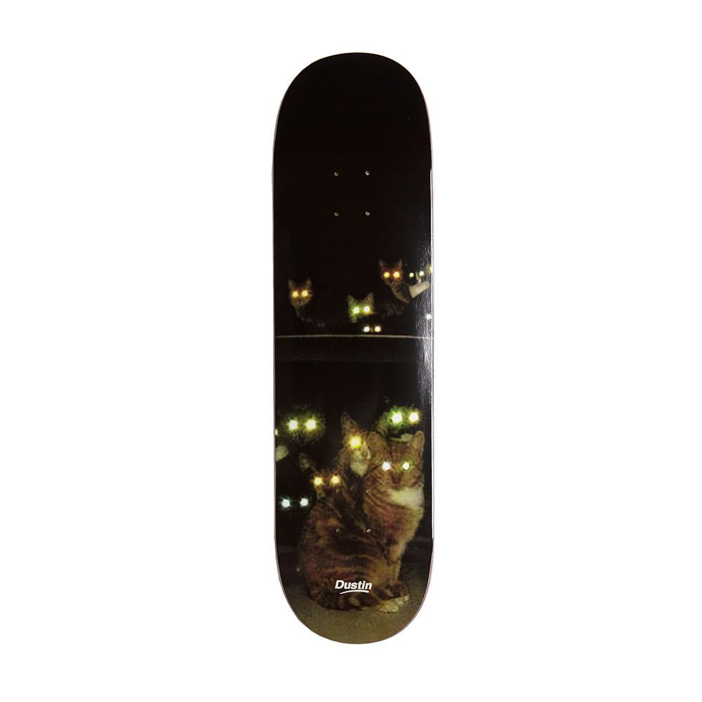 Alltimers Dustin Feline Vision Skateboard Deck - 8.5"