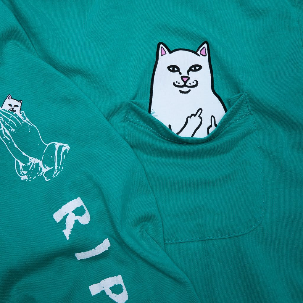 RipnDip Lord Nermal Pocket Tee Long Sleeve | Longsleeve by Ripndip 5