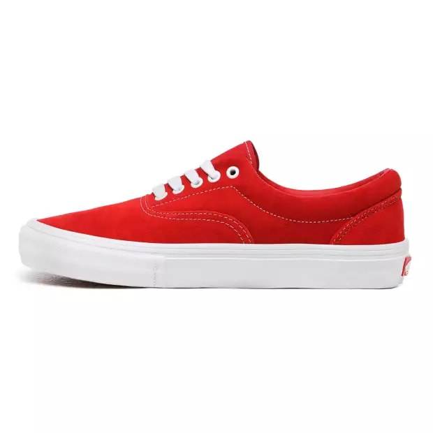 Vans Era Pro Skate Shoes - Red / White | Shoes by Vans 3