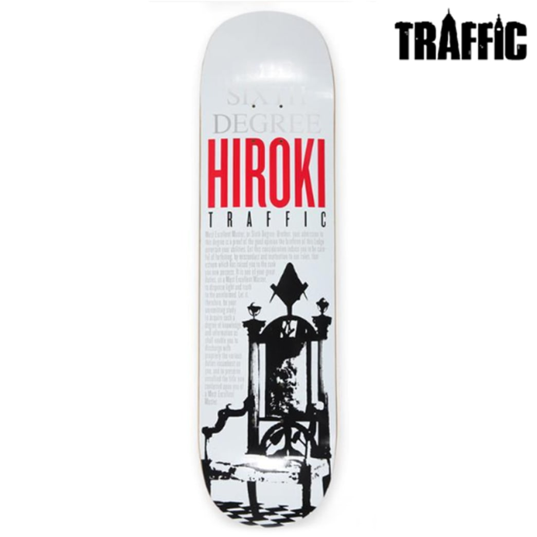 Traffic Deck - Team | Deck by Traffic Skateboards 1