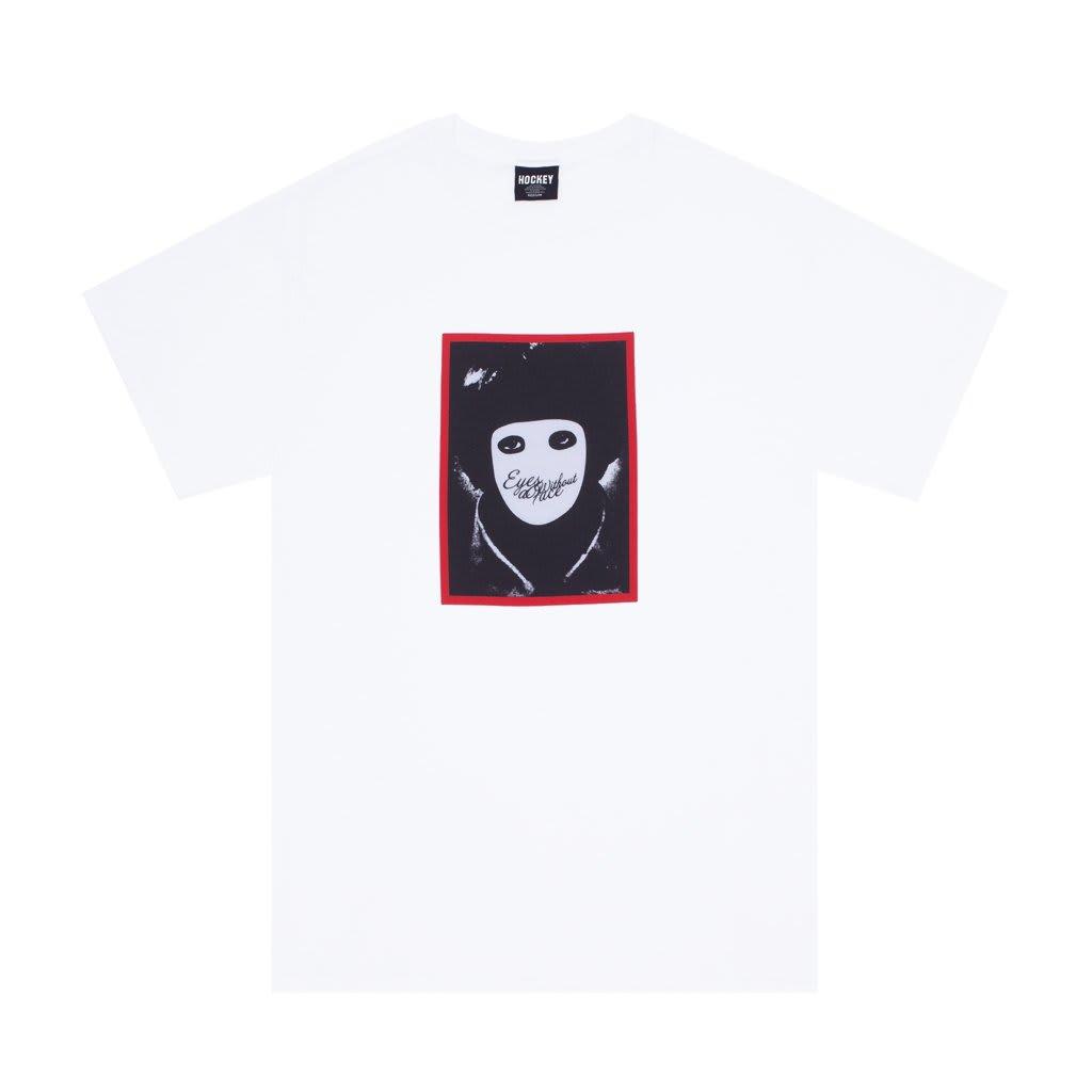 Hockey No Face T-Shirt - White | T-Shirt by Hockey Skateboards 1