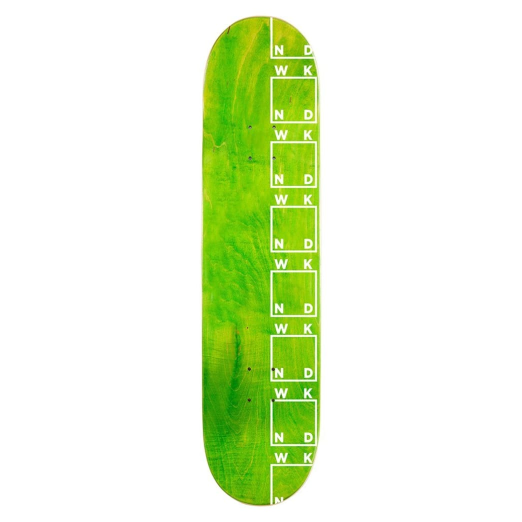 WKND Side Logo Skateboard Deck - 8.25"